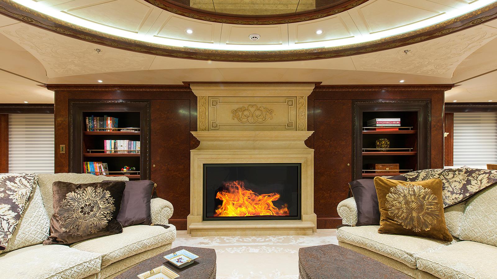 Ester Iii Yacht Fireplace