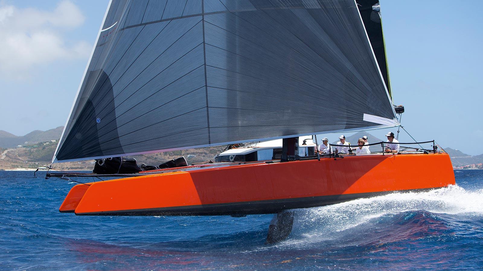 Gunboat G4 sailing yacht