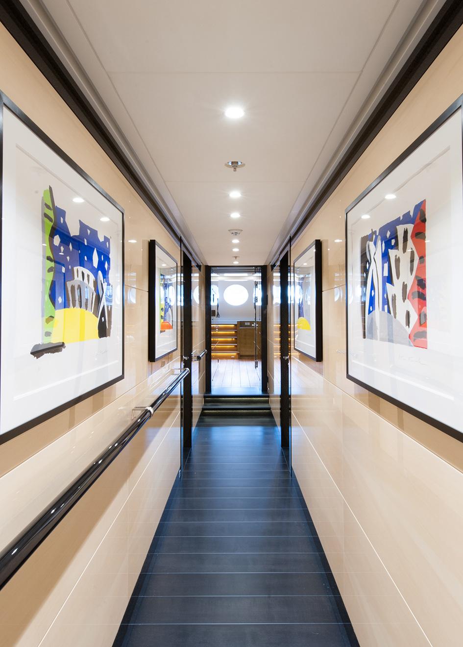 Portrait Event Yacht Hallway