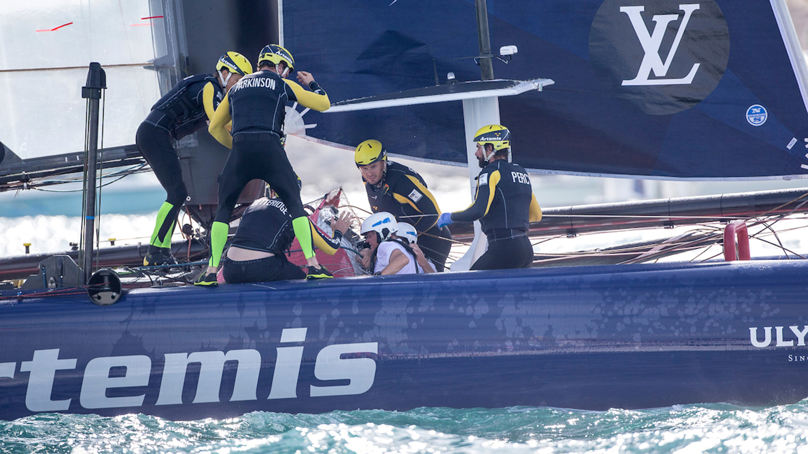 Americas Cup World Series Bermuda Crash