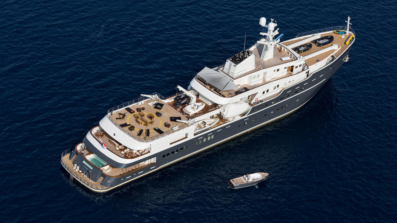 mega luxury yachts sale with Legend The 77m Soviet Icebreaker Turned Explorer Yacht 32317 on 63m Swath furthermore Mayan Queen Iv likewise Eclipse 73837 likewise Legend The 77m Soviet Icebreaker Turned Explorer Yacht 32317 also La Belle Il Primo Yacht Super Lusso Al Mondo Per Sole Donne.