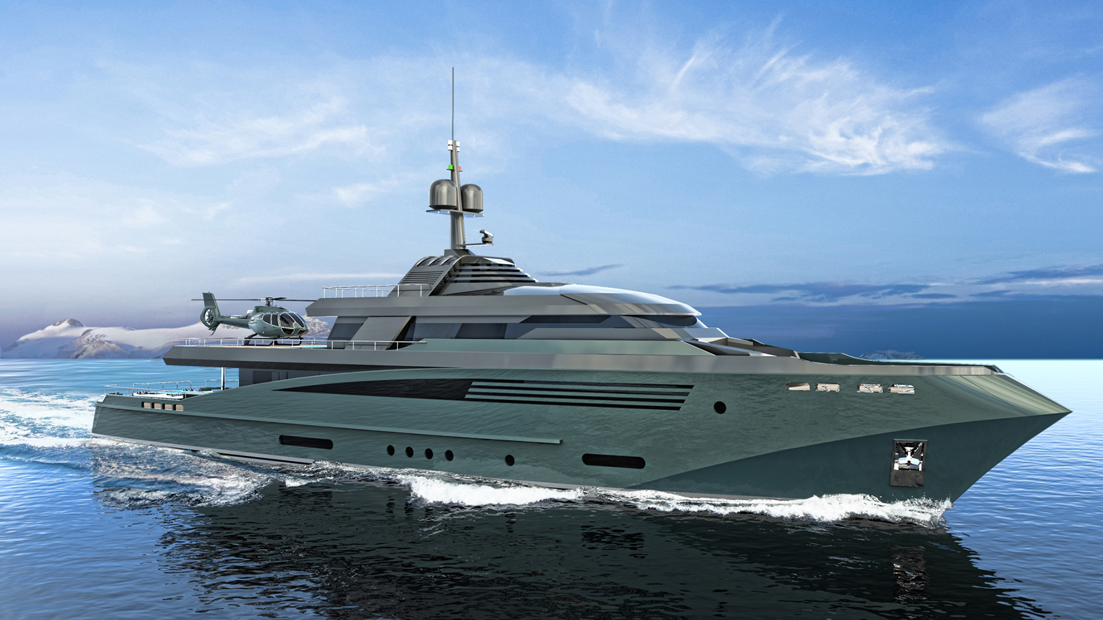 Queequeg Yacht Concept