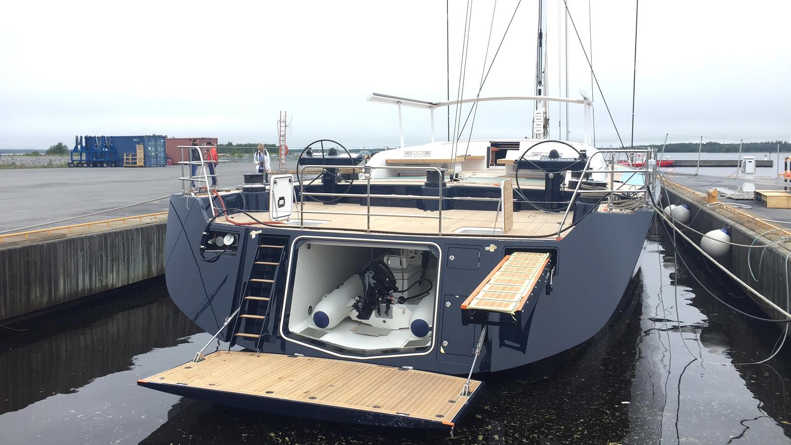 Swan 115 Launch