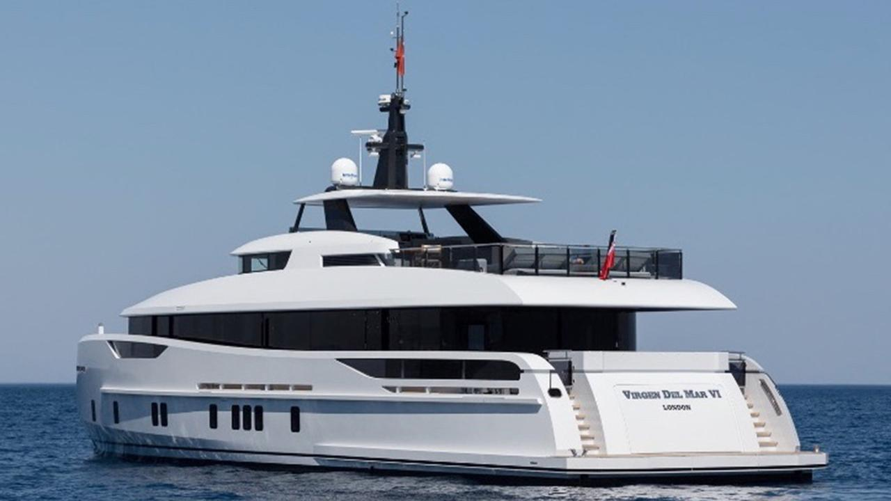 Image result for Alia Yachts Delivers Virgen Del Mar VI