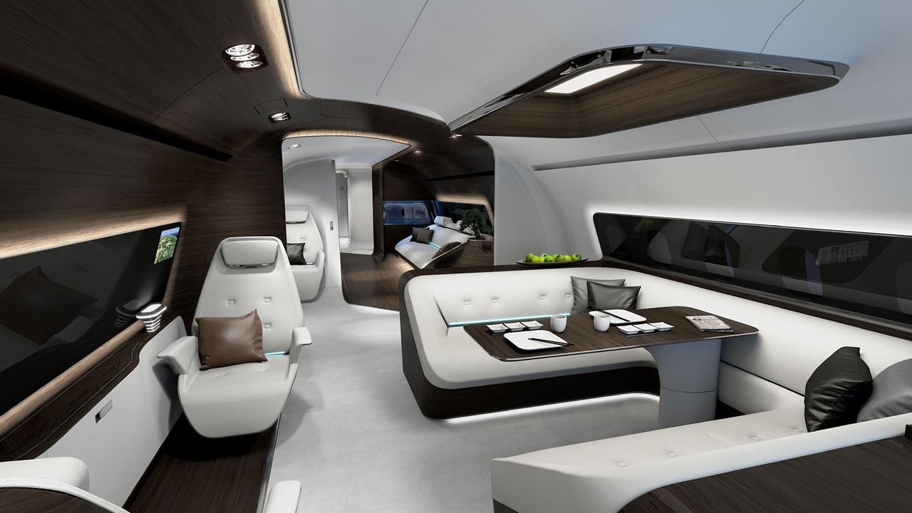 High Design: The Most Innovative Private Jet Interior Concepts | Boat  International