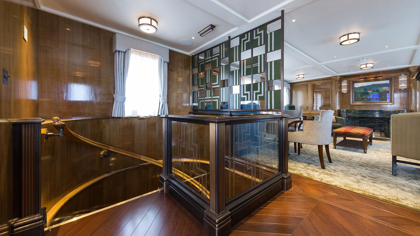 Malahne super yacht interiors