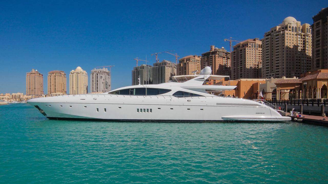 2 5m Price Drop On Mangusta Motor Yacht Serenity Boat International