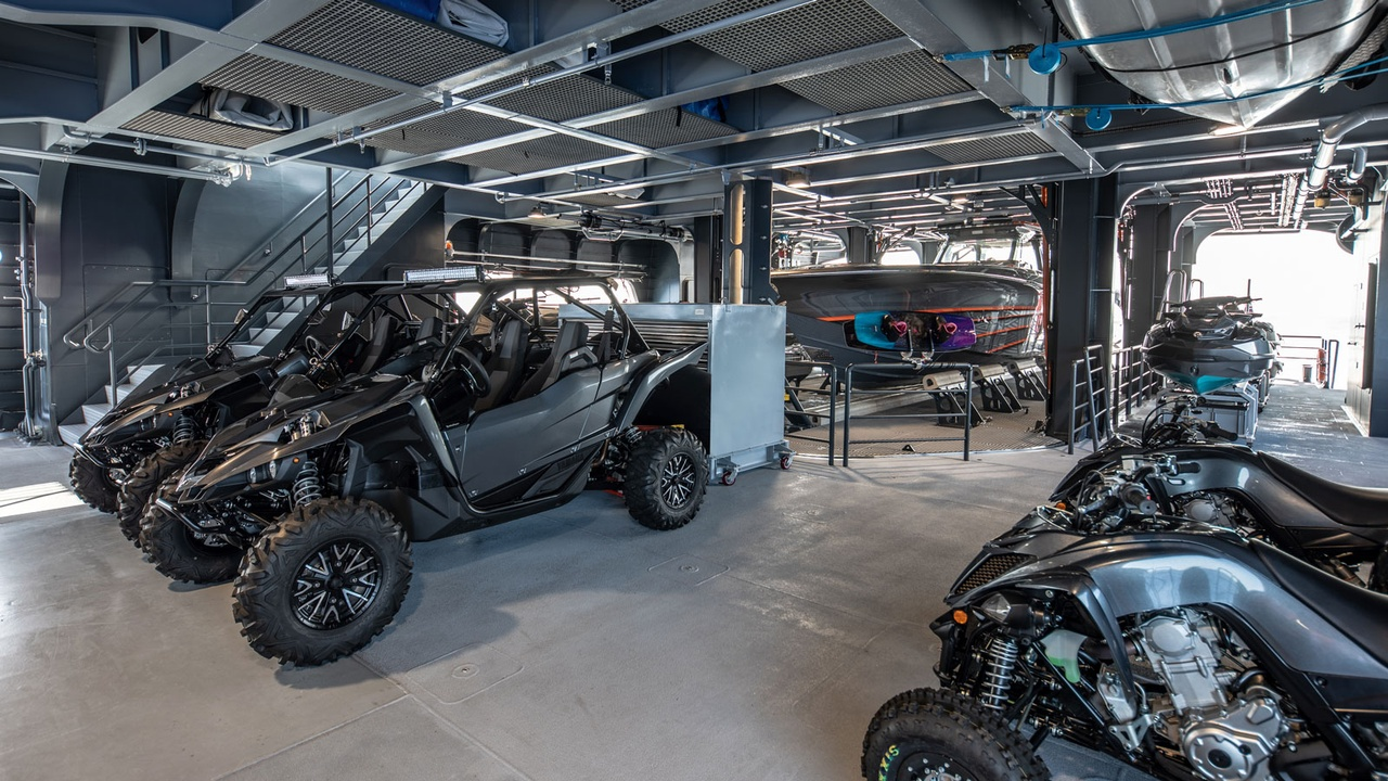 The Best Superyacht Toy Garages in the World | Boat