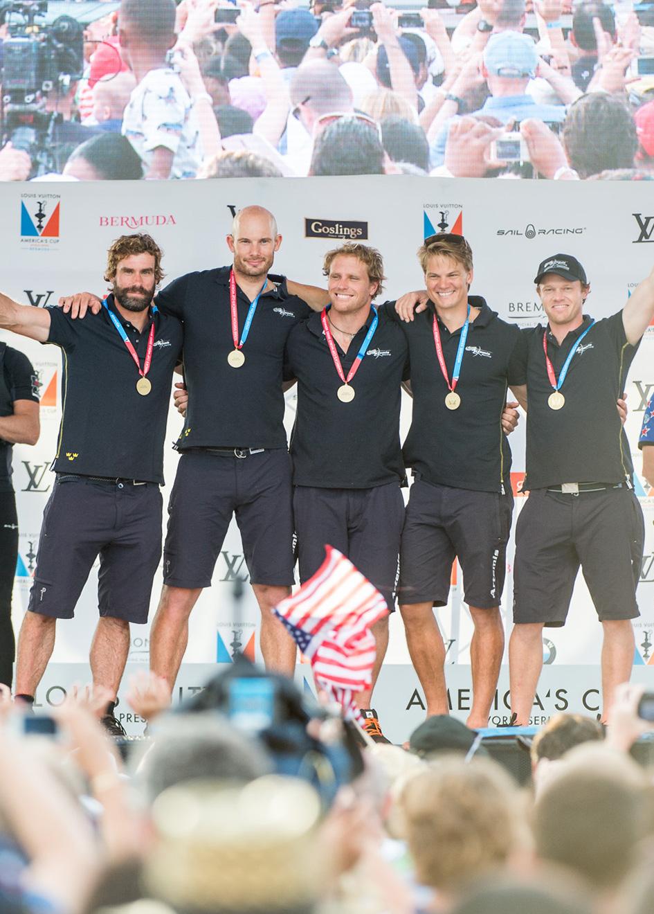Portrait Americas Cup World Series Bermuda Portrait Artemis Racing Wins