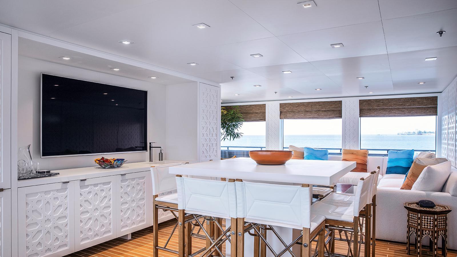 catamaran-superyacht-Hodor-worlds-largest-toybox-lounge