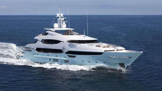 Eddie Jordan S 47m Sunseeker Yacht Blush Boat International