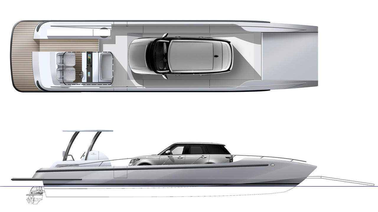 Cockwells Designs 14 5 Metre Luxury Landing Craft Tender Boat