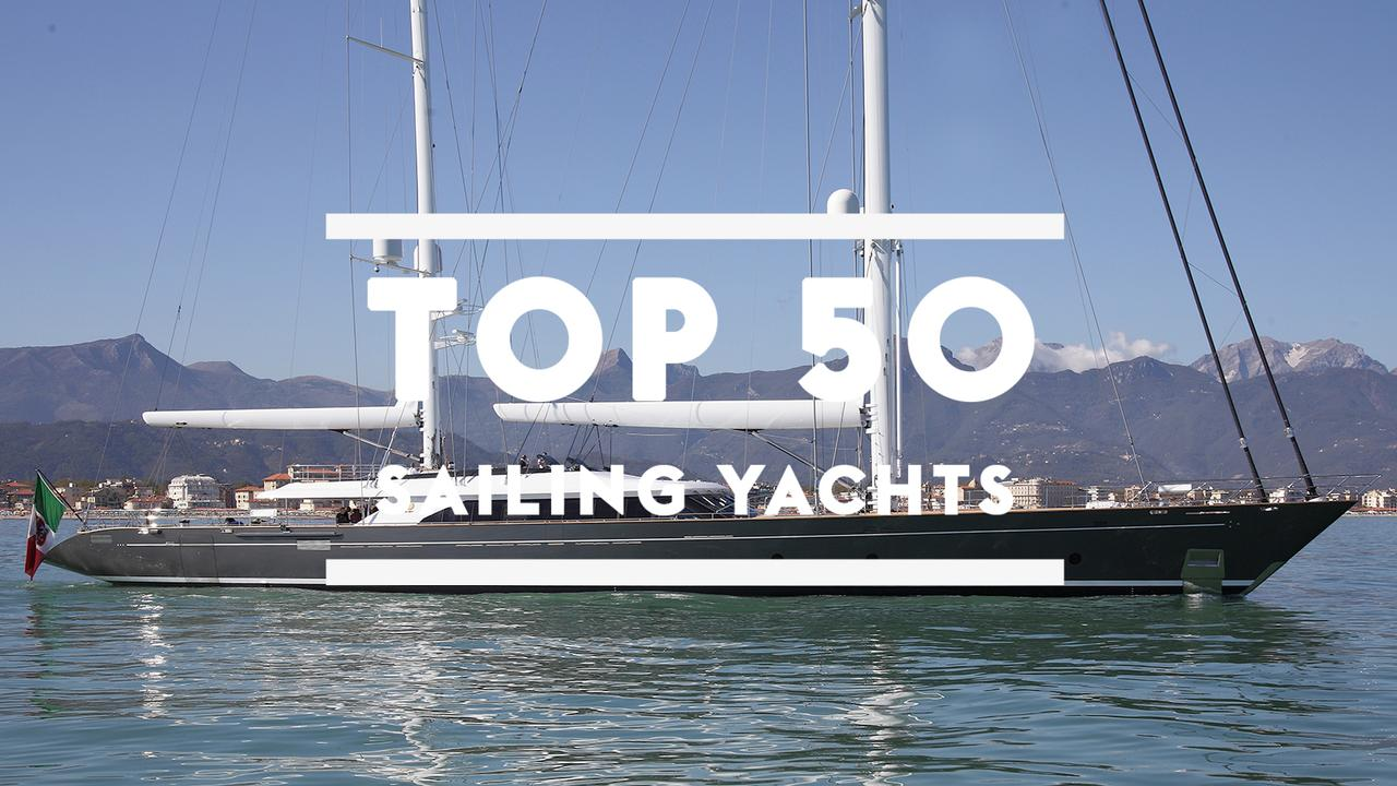 The top 50 largest sailing yachts in the world | Boat International