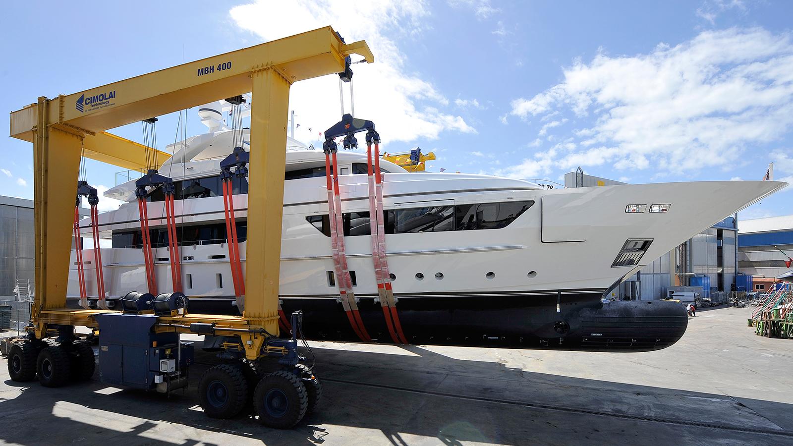 Sanlorenzo Scorpion Yacht Launch