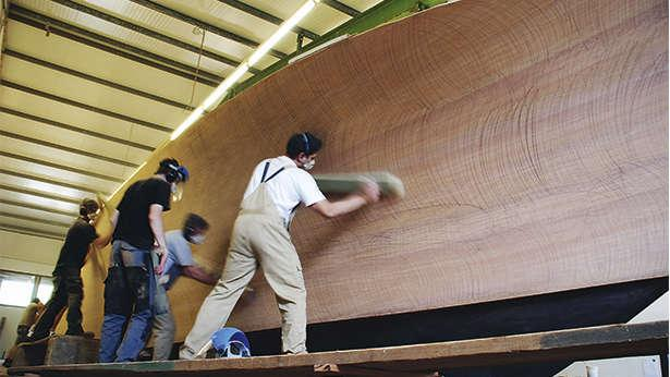 The construction of modern wooden superyachts | Boat International