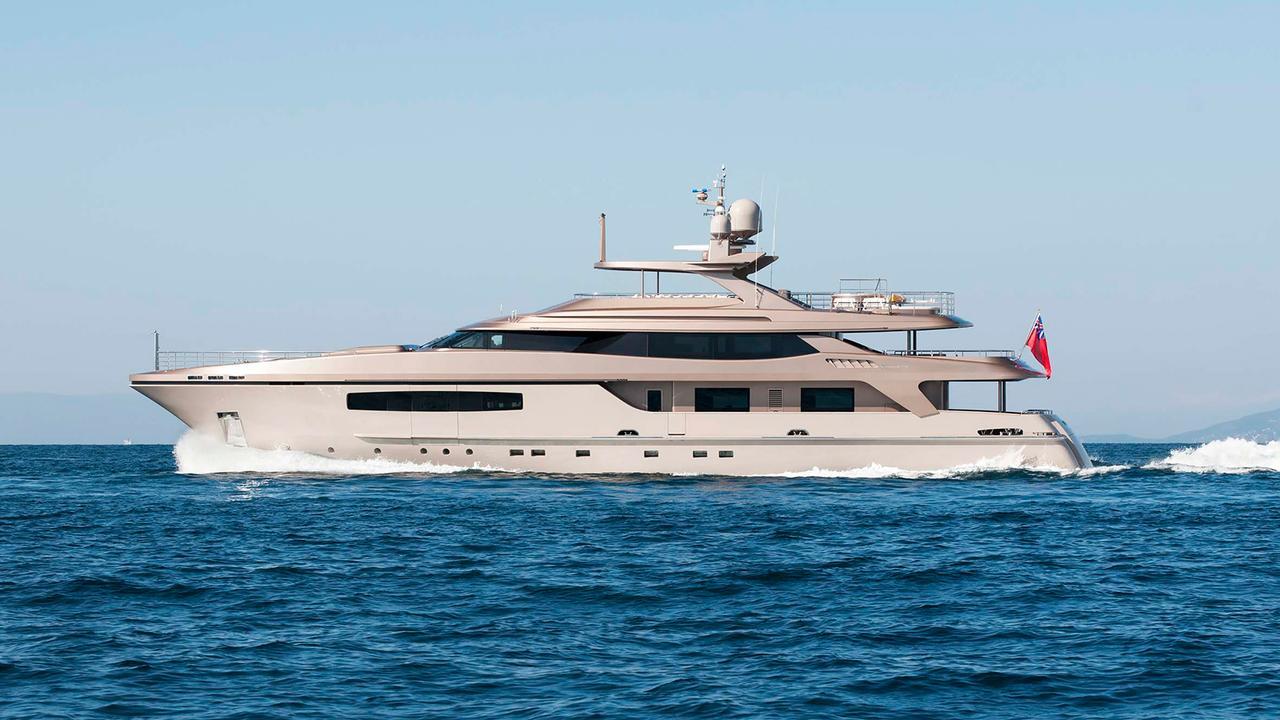 42 metre Baglietto motor yacht Geosand sold   Boat International