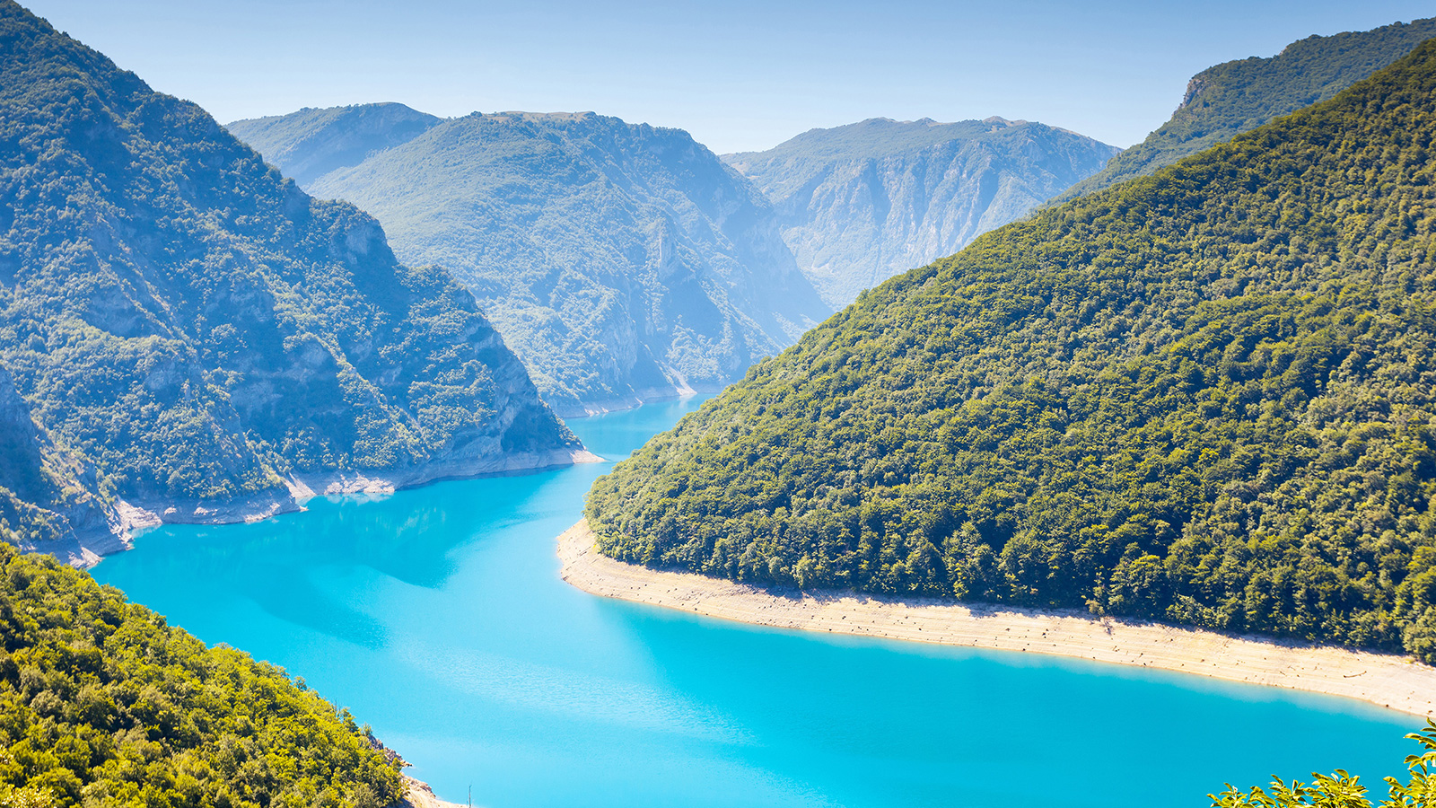 Piva Canyon in Porto Montenegro
