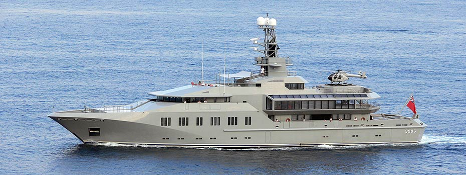 Top 200 largest yachts in the world Superyacht Skat
