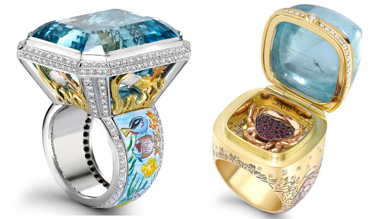 Very best New Under The Sea jewellery collection from Theo Fennell | Boat  PZ31