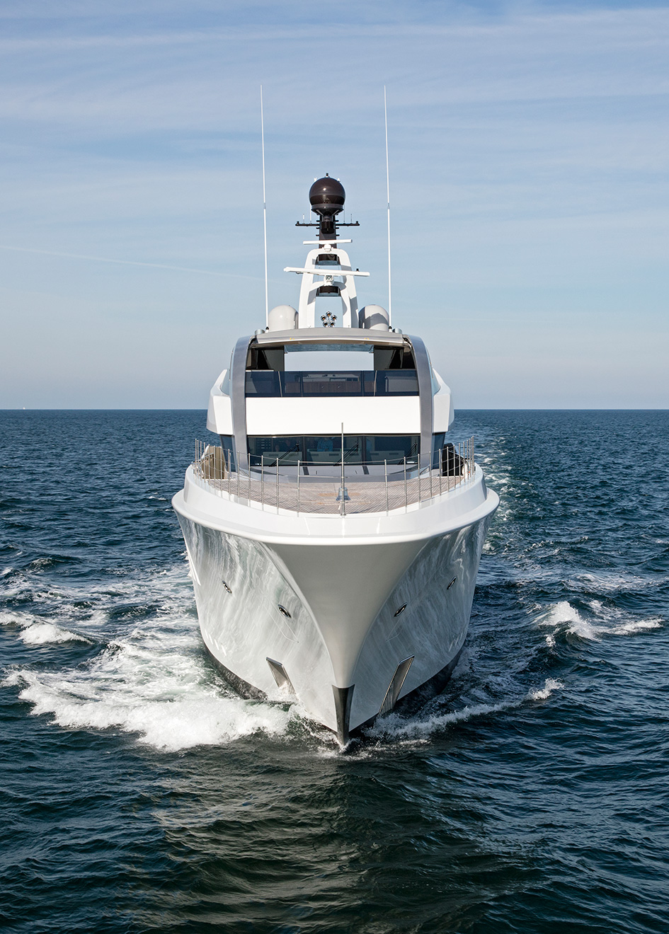 Portrait Halo Feadship Yacht