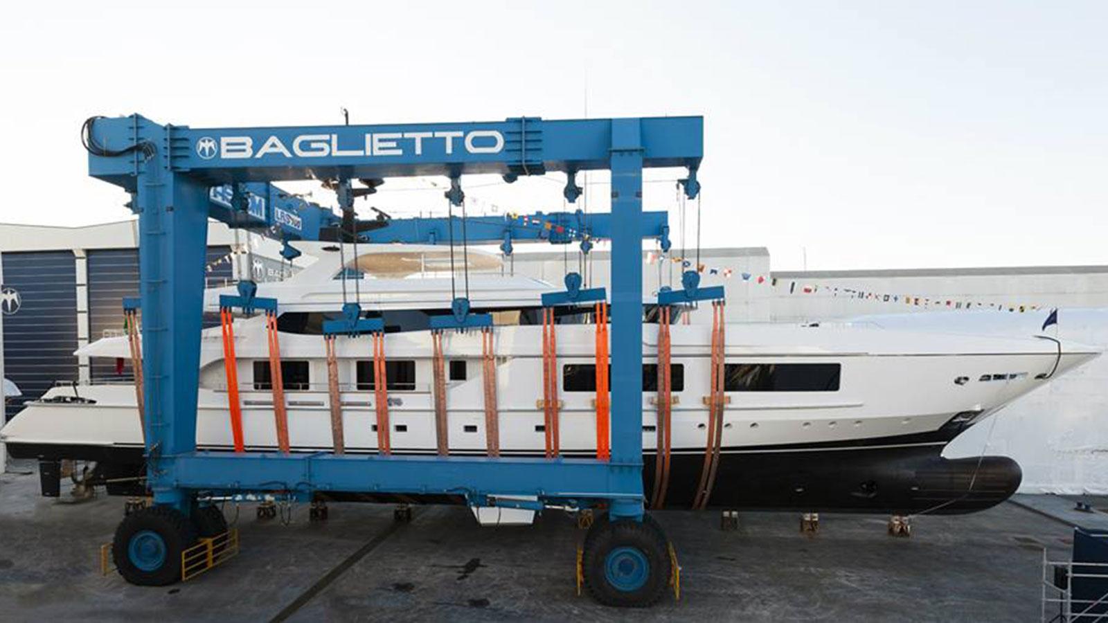 Baglietto 10219 prepares for launch