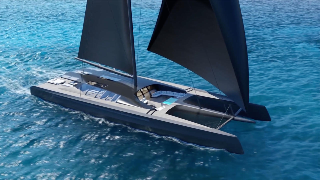 baltic yachts backs 50m blackcat catamaran concept