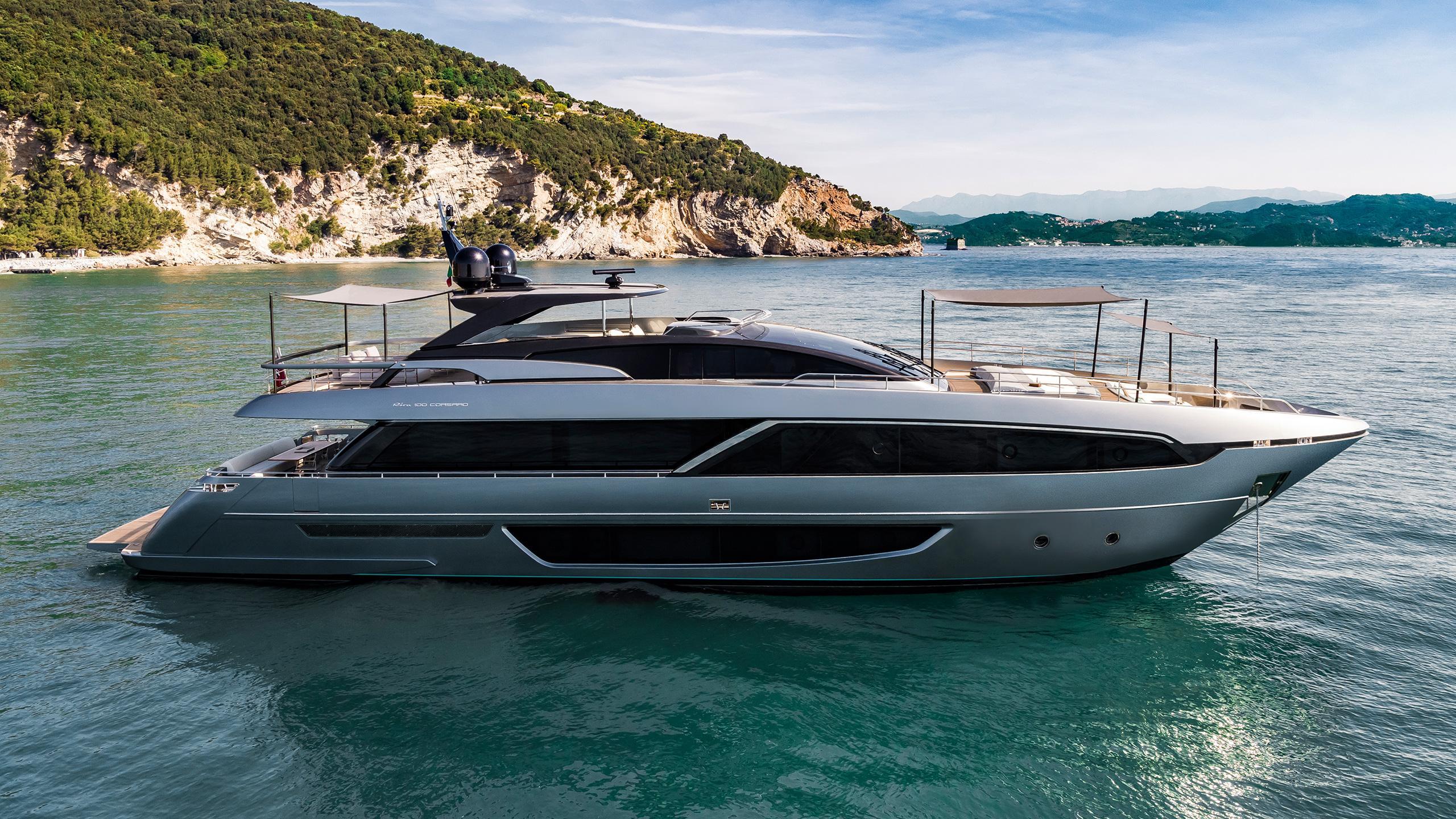 POCMI64SSqivY9tVDwsg Riva 100 corsaro yacht wild one hero credit alberto cocchi 2560x1440