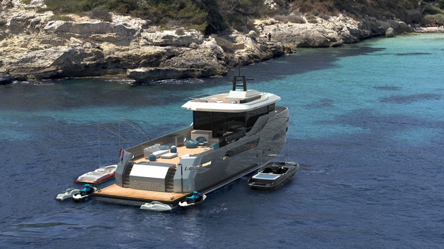第一款Lynx游艇在新的Crossover游艇系列中销售