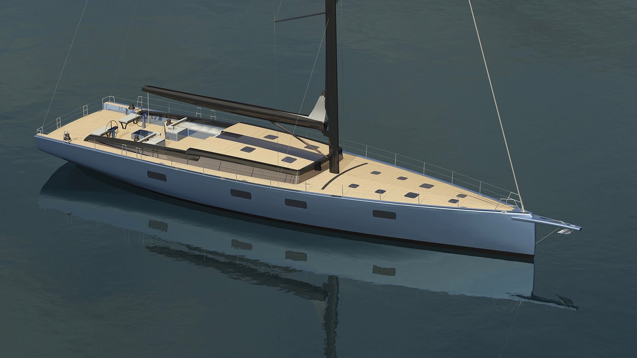 Tripp Design and Winch Design Collaborate on In-Build 27 Metre Sailing Yacht