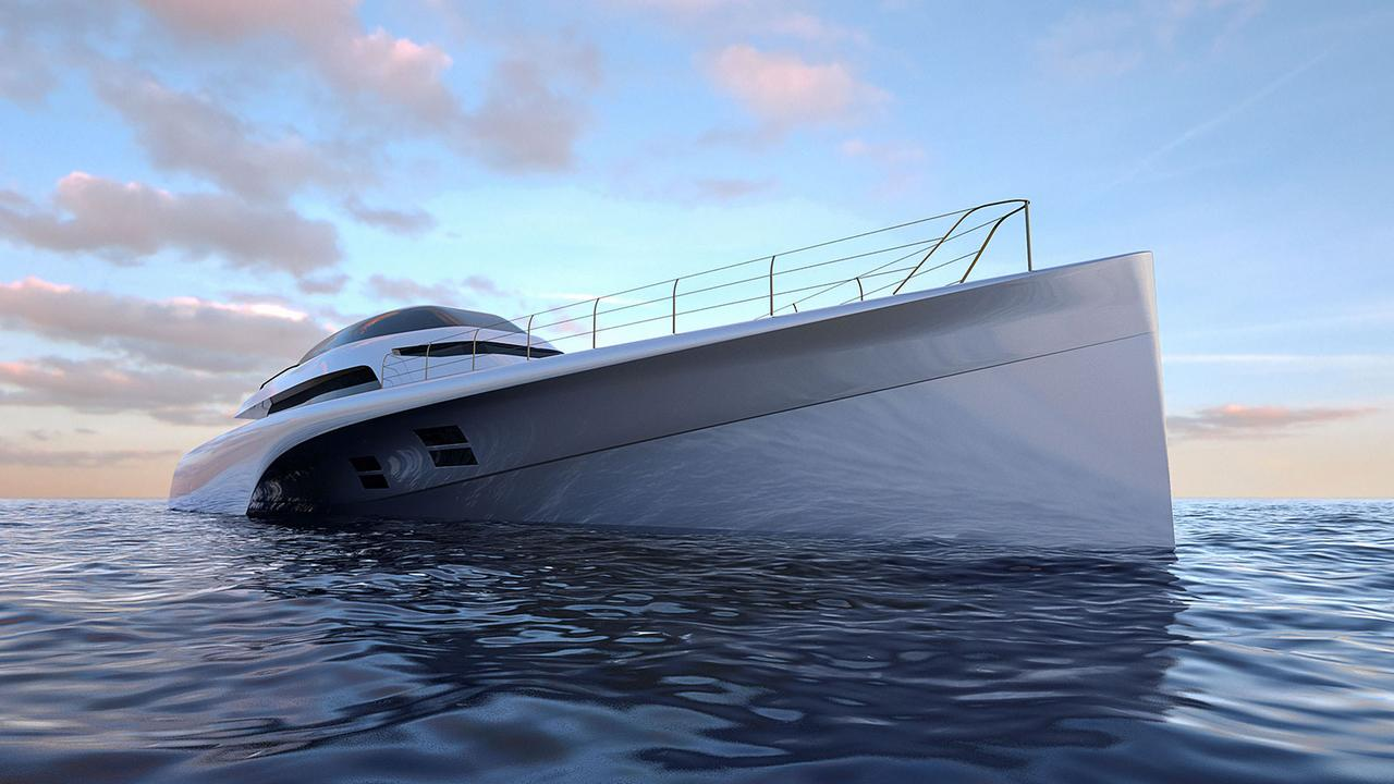 Design Unlimited reveals MC155 trimaran concept | Boat