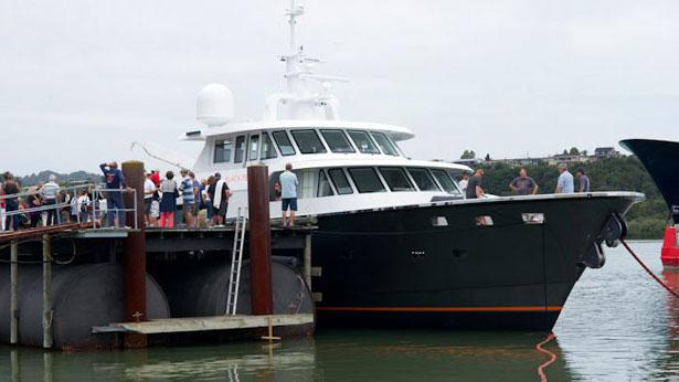 Diverse Projects launches superyacht Black Pearl   Boat