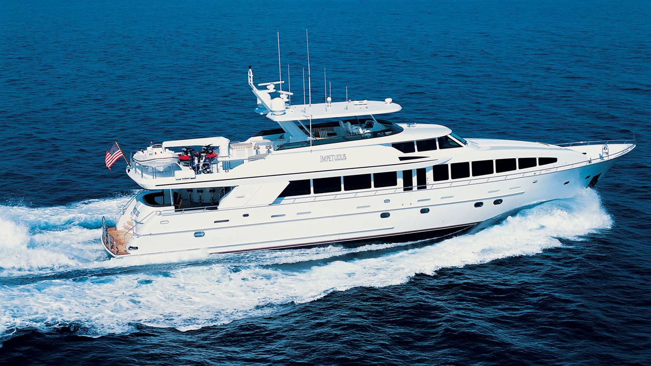 crescent custom motor yacht impetuous for sale boat