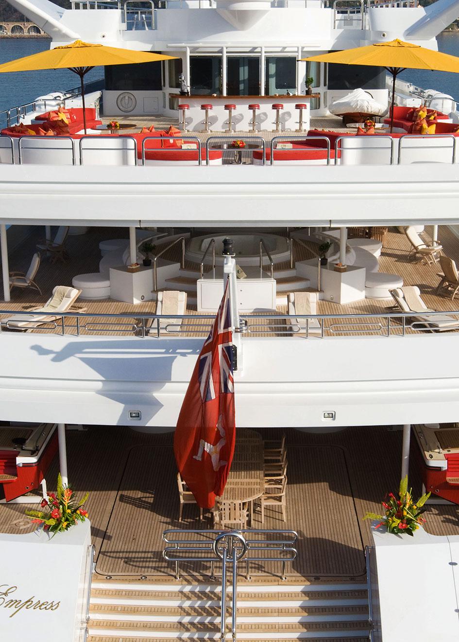 Indian Empress old aft decks