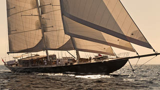 The 56 metre motor sailing yacht Regina has been sold by