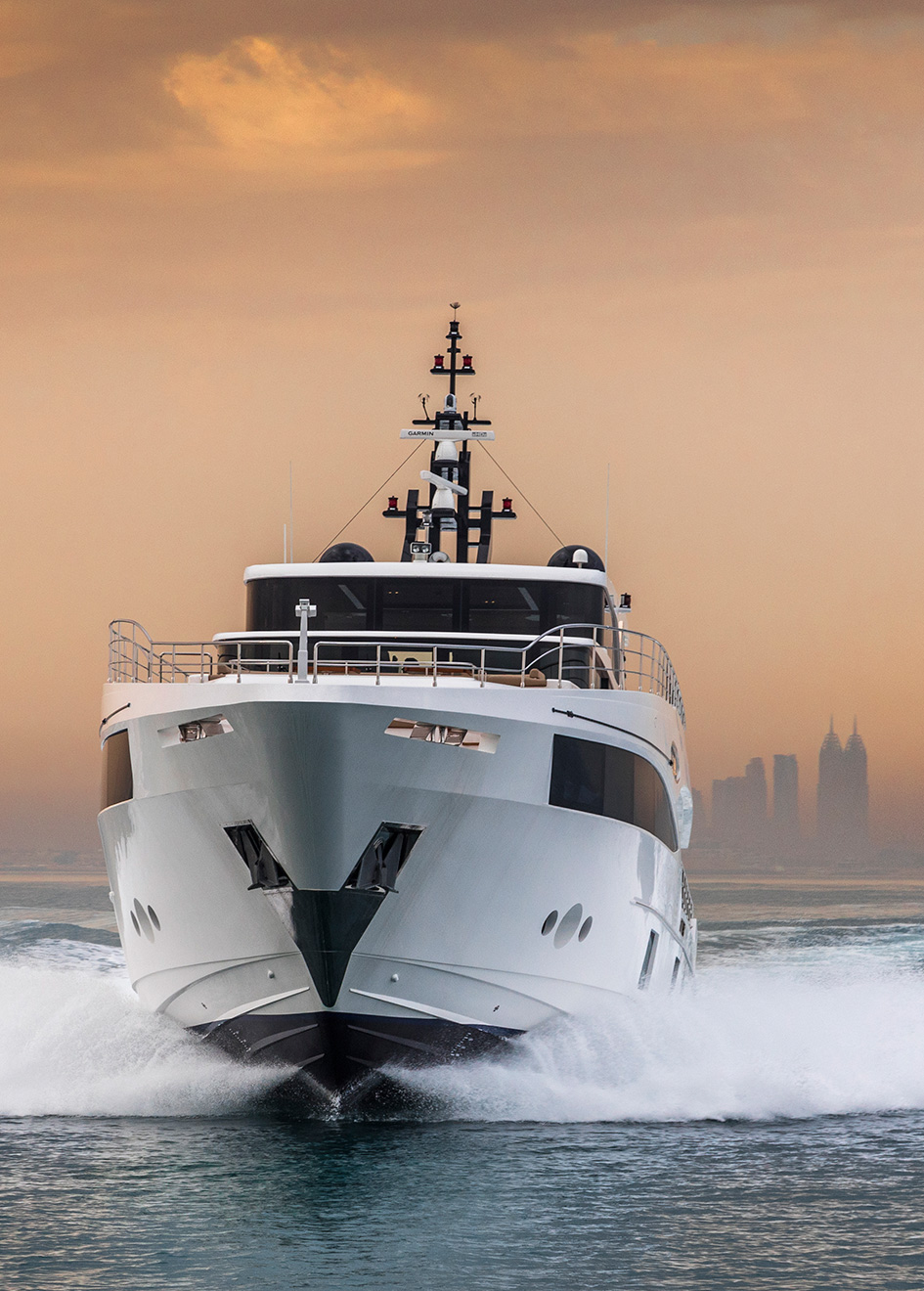the-bow-of-the-gulf-craft-majesty-100-yacht-nahar-credit-george-ajoury