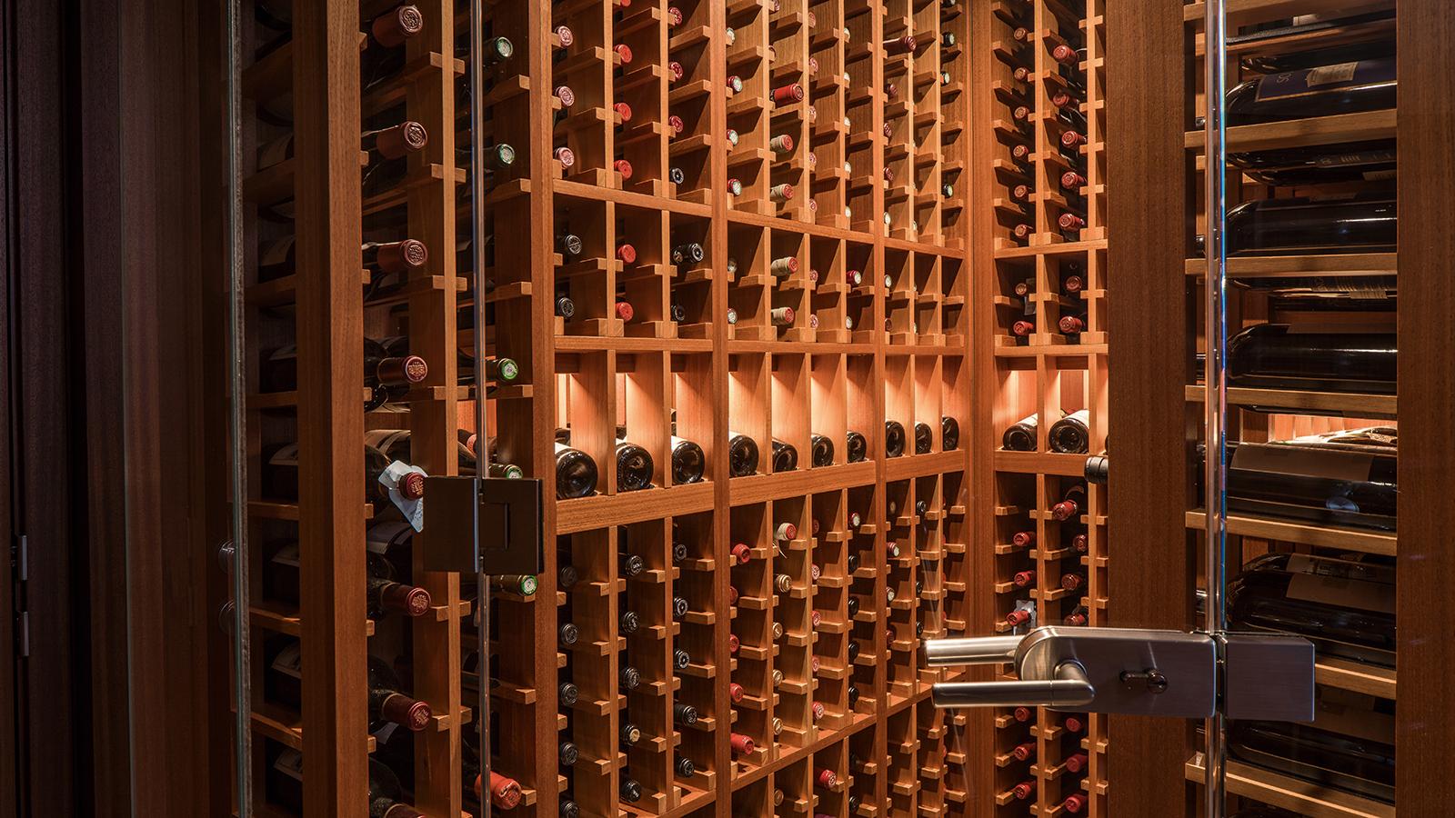 Image result for organised wine rack