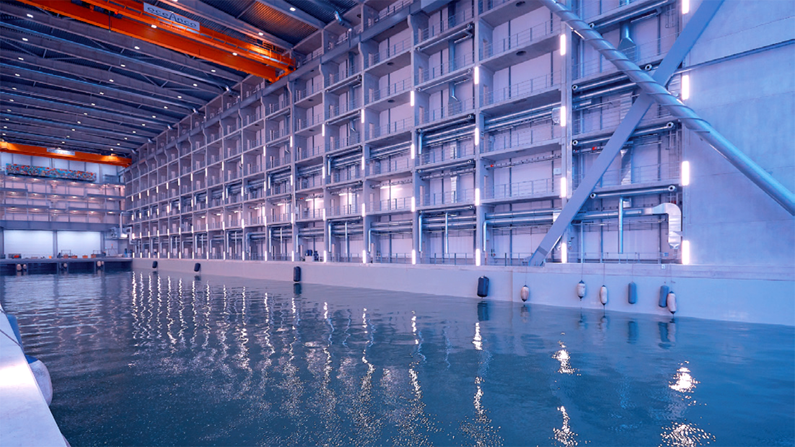 oceanco new yacht building shed