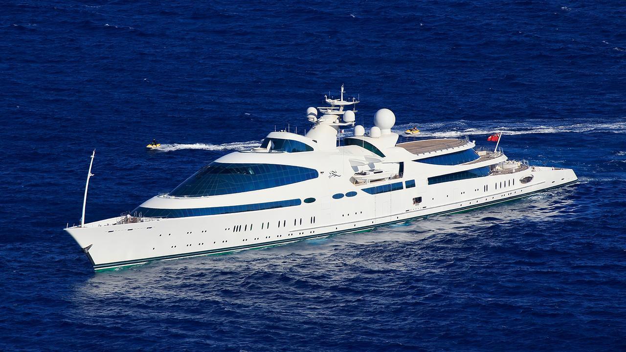 First Photos Of Dolphin Inspired Superyacht Yas Underway