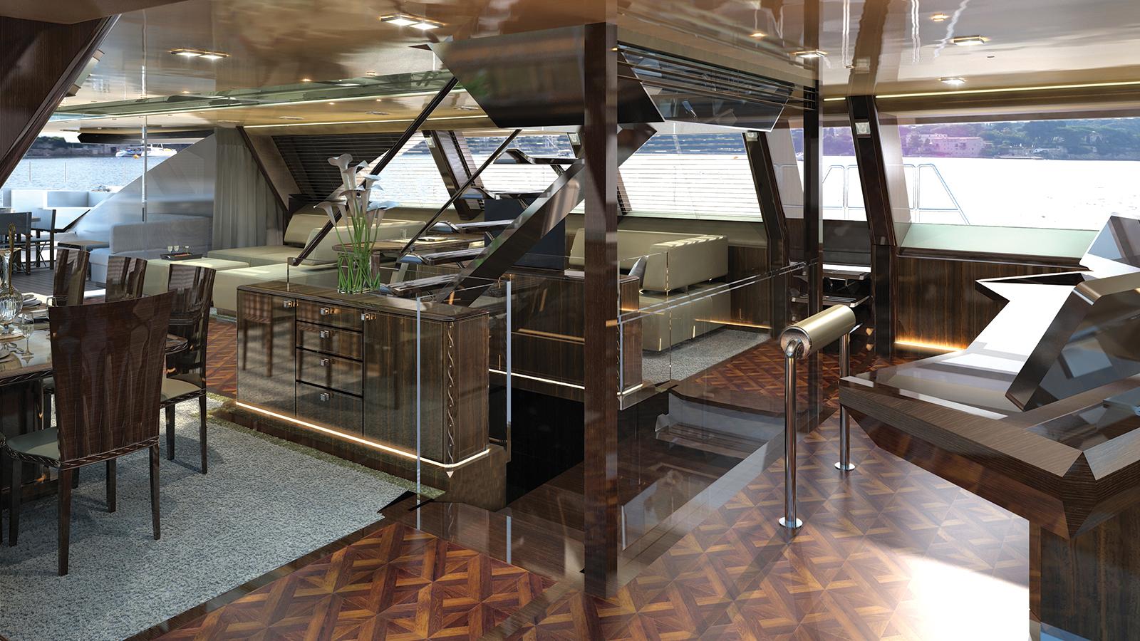 Troy Yacht Interior