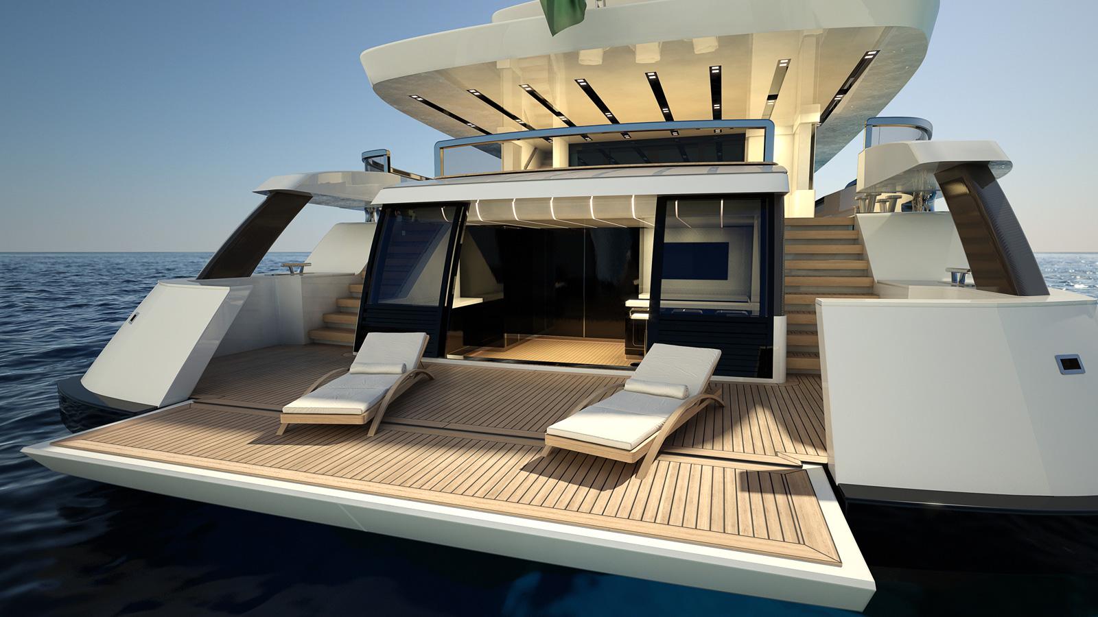 Mondo Marine M50 Aria Yacht Beach Club