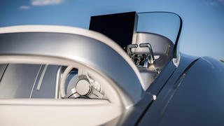 Arrow 460 gt on board the mercedes benz styled speedboat for Mercedes benz helms