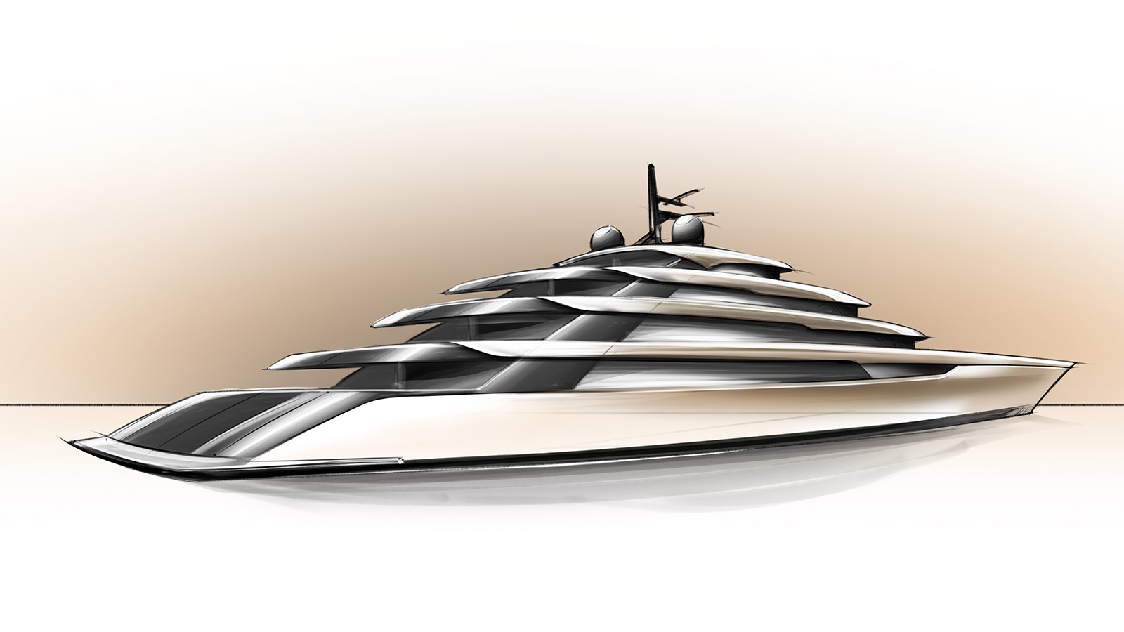 Mulder 115m Concept Yacht