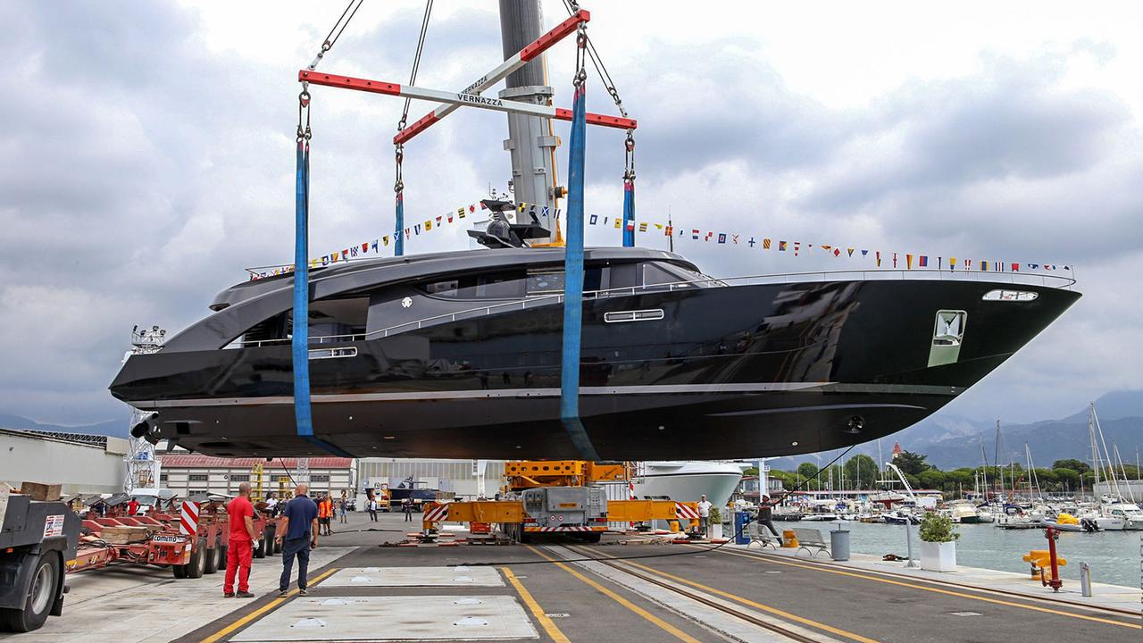 CCN 27m custom yacht Freedom launched