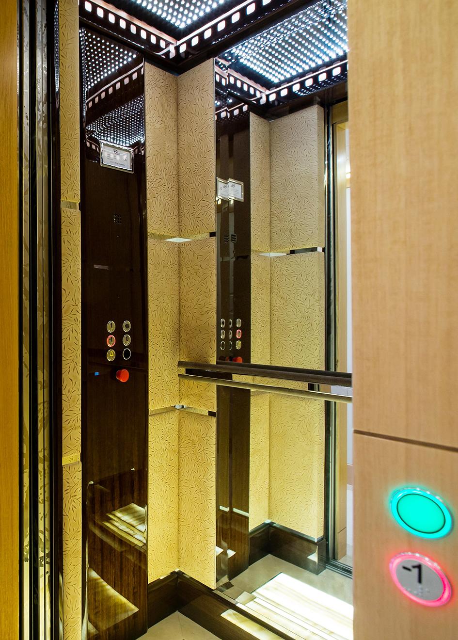 Majesty 155 elevator