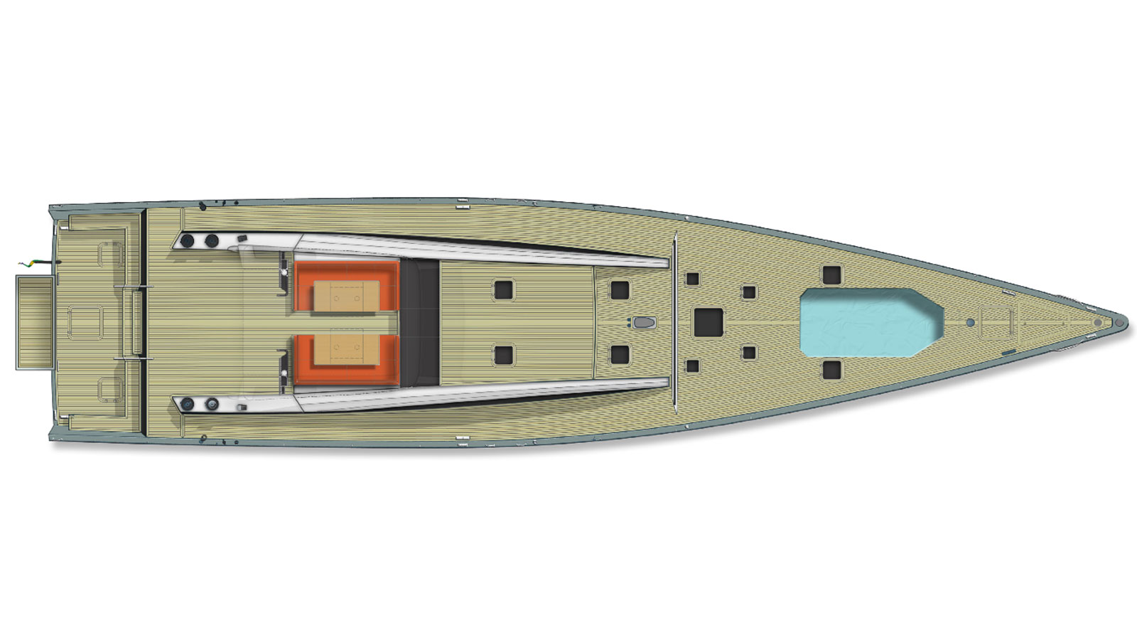 Silver Bullet 100 exterior layout