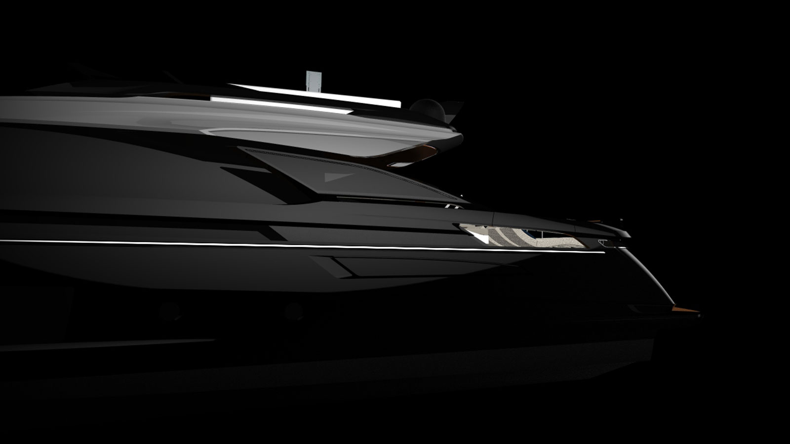 Azimut Grande S10 Yacht Side View