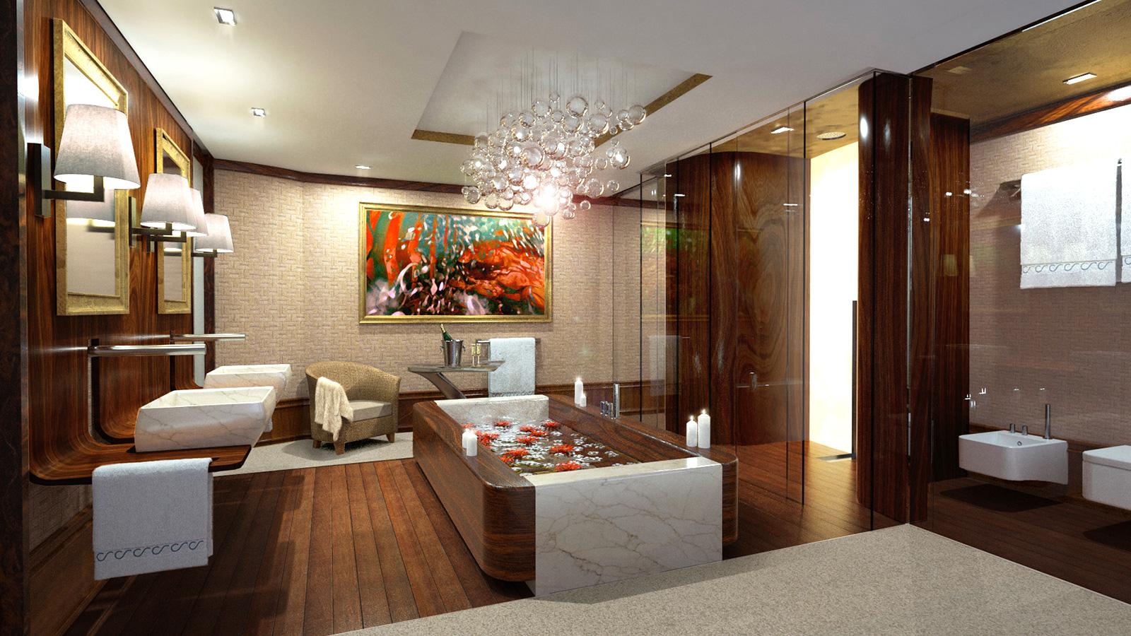 Nobiskrug Radiance Concept Yacht Bathroom