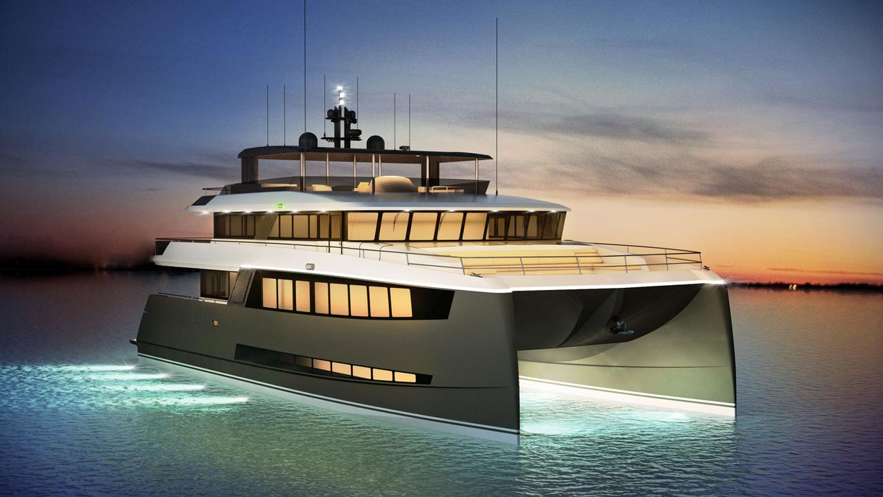 Amasea Yachts reveals interior of 25 metre tri-deck
