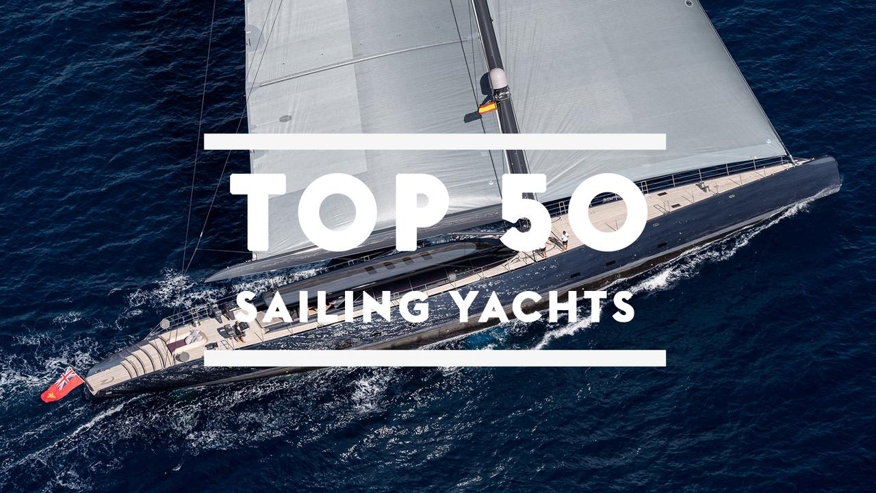 The Top 50 Largest Sailing Yachts In World