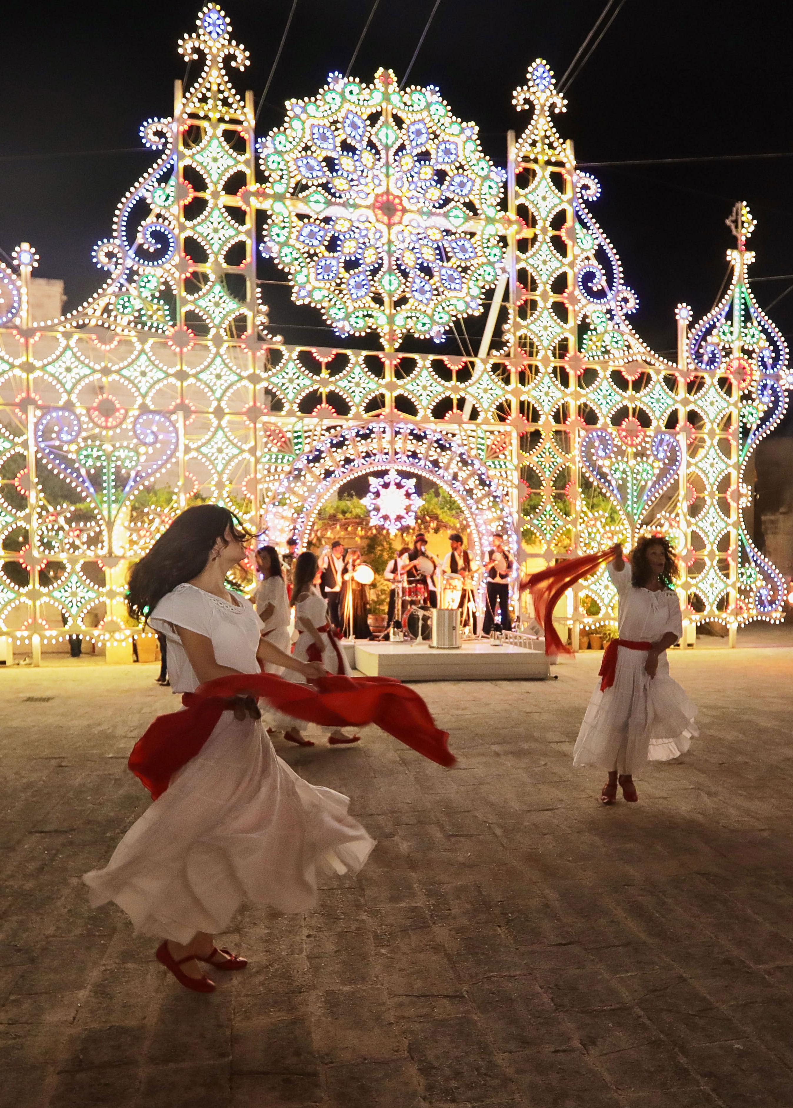 Azimut Yacht Gala Party Dancing